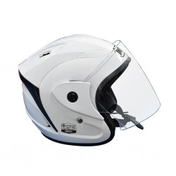 Index Titan Kids White Helmet