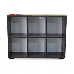 Bookshelf Open 2x3 Melamine MDF Ref FG003