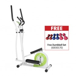 JDM Sports ES-9501 Magnetic Elliptical Bike & Free Dumbbell Set