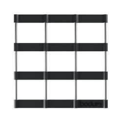 """Bodum 11553-01 17x17cm Black Trivet Bistro """"O"""""""