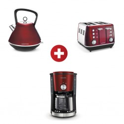 Morphy Richards 1.5 Pyramid Kettle+Toaster+Filter Coffee