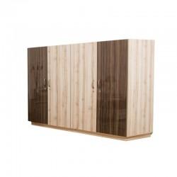 Chesham Wardrobe 4 doors Maple MDF