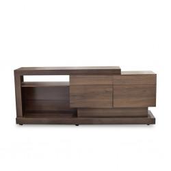 Noronha Low TV Cabinet Nogal/Coffee PB