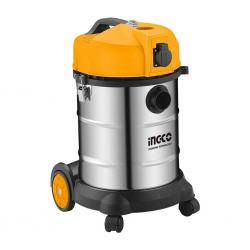 Ingco VC14301 Wet n Dry 30L Industrial Vacuum