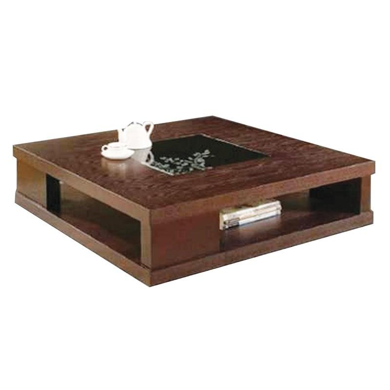 Gorgia Coffee Table Black MDF