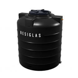 Resiglas 2000 Lts Polychrome Water Tank Black Night