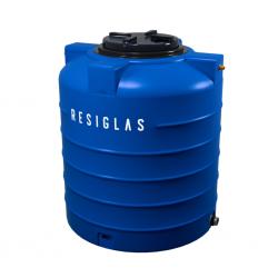 Resiglas 5000 Lts Polychrome Water Tank Ocean Bue