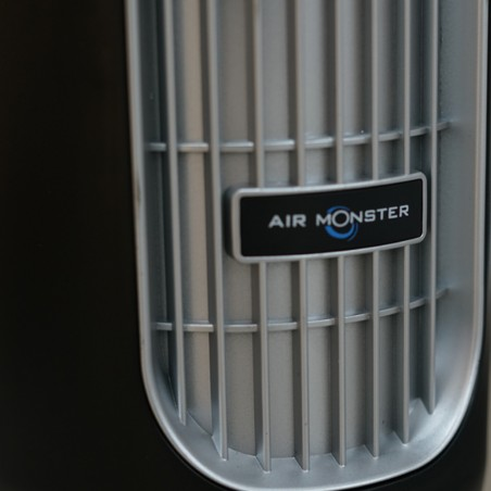 """Air Monster 15890R 43"""" Blk/Silver Remote Tower Fan"""