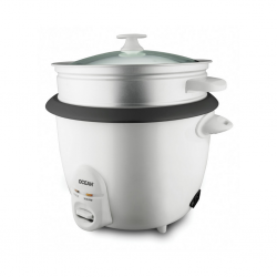 Ocean OCRC18 1.8L WH Rice Cooker With Glass Lid2YW