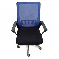 Stanford Sylvia Office Chair Blue Fabric