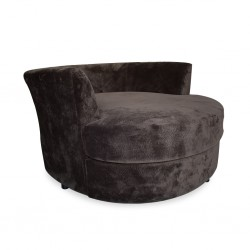 Keywest Cuddler Chair Choco Fabric (FG)