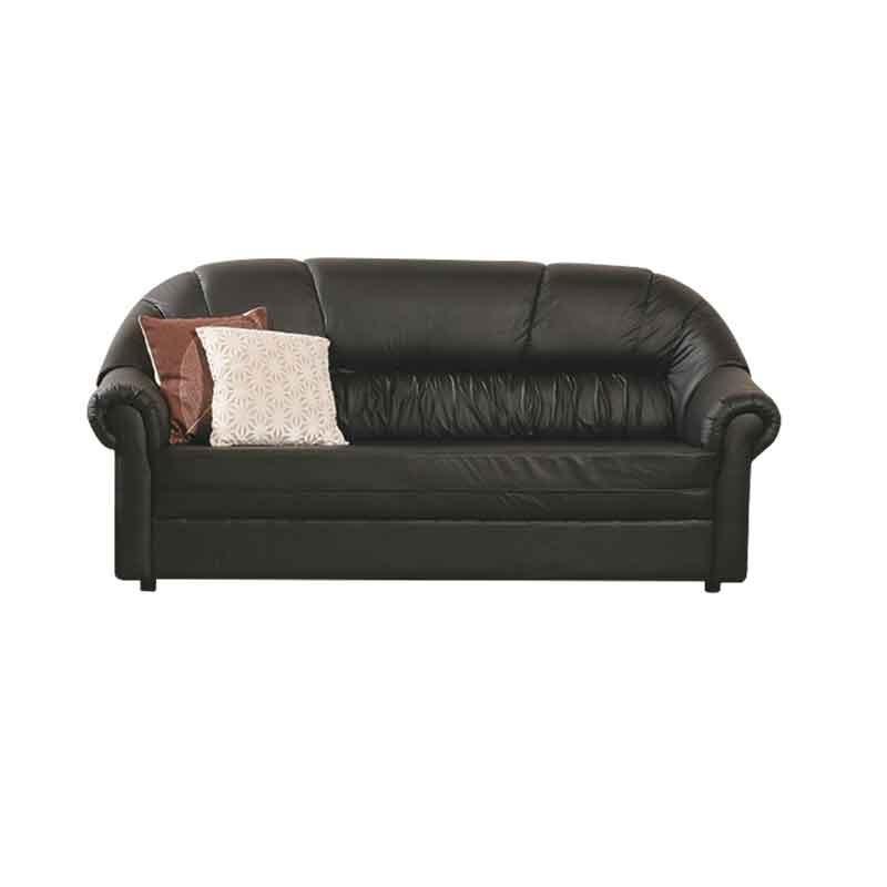 Memphis Sofa 3+2+1 PVC Black