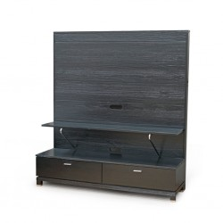 Daisy Console With Rolling Drawers Coffee