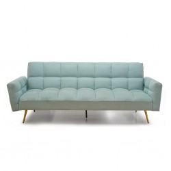 Floresta Sofa Bed Light Blue Fabric