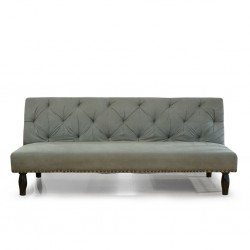 Melvil Sofa Bed Grey Microfiber
