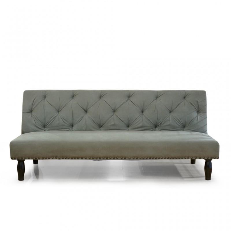 Melvil Sofa Bed Grey Microfiber