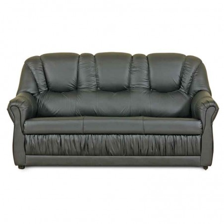 Primera Sofa 3+2+1 PVC Black