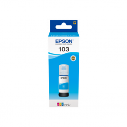 EPSON 103 ECOTANK S24A CYAN INK BOTTLE 65.0 ML