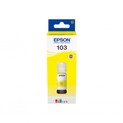 EPSON 103 ECOTANK S44A YELLOW INK BOTTLE 65.0 ML