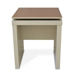 Lincoln Side Table Off-white/Natural PB