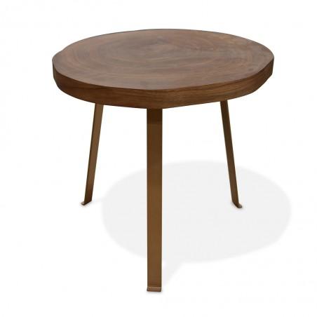 Luna Side Table Walnut