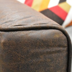 Gabrielle Corner Chaise in Fabric Charcoal