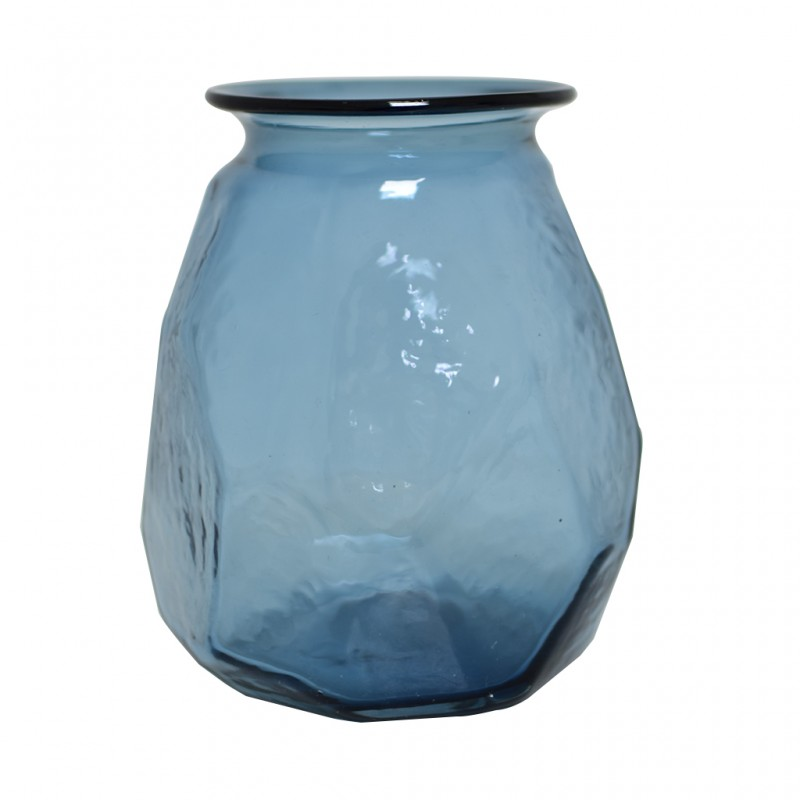 Vase Glass Height 19 cm