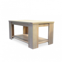 Clary Coffee Table Melamine Viscount Oak