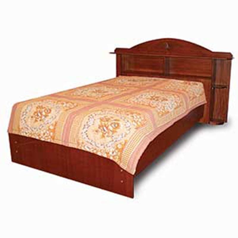 Denver Bed 107x190 cm Sapele MDF