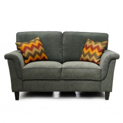 Alicia 2 Seater Sorrento Pewter Col Fabric