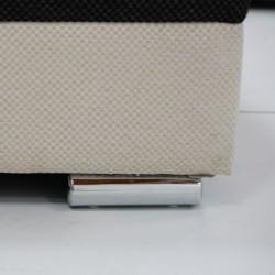 Ontario Sofa Corner Fabric Beige/Grey