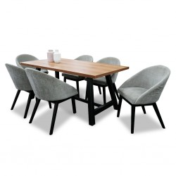 Ophelia Table and 6 Chairs
