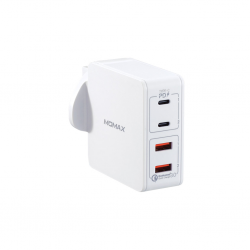 Momax ONGPlug 4-Port Fast Charger White