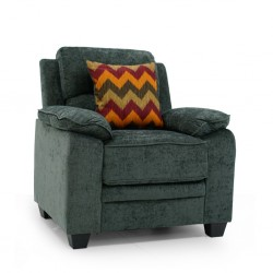 Sammy Accent Chair Sorrento Pewter Fabric