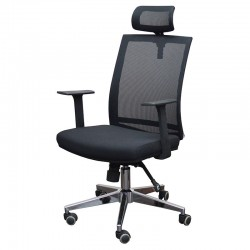 Stanford Katia Office Chair Black Fabric