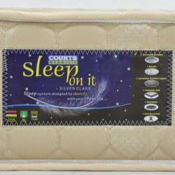 Sleep On It Silver King Size Gold fabric 180x200cm
