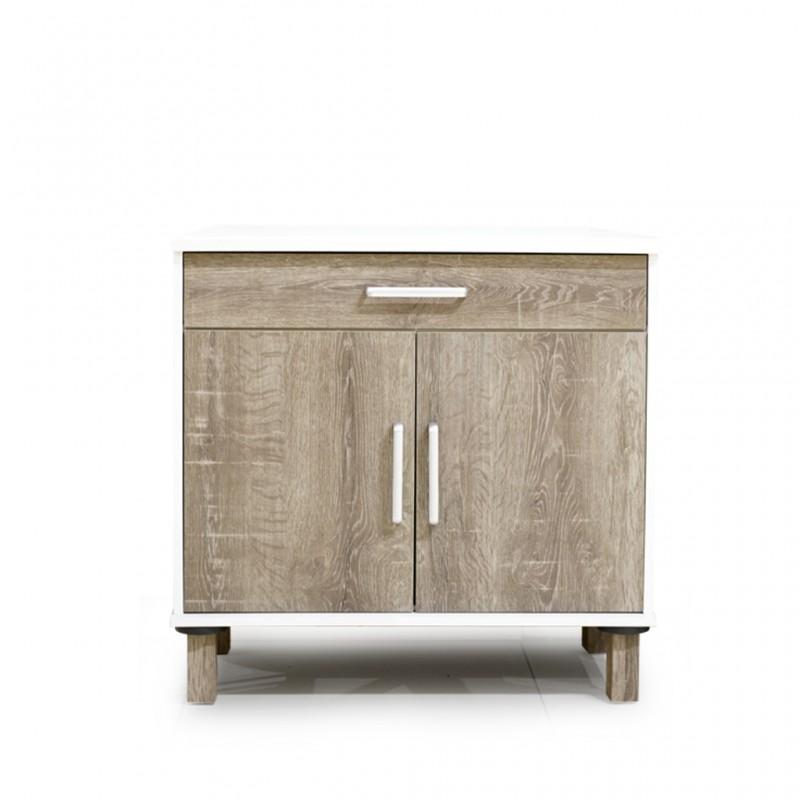 Cocktail Kitchen 2 Doors+1 Drawer Cabinet PB