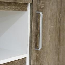 Cocktail Kitchen Cabinet 6 Doors PB