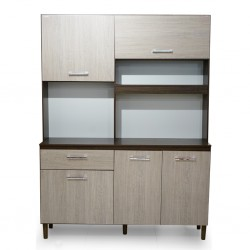 Yara 140 cm Kitchen Unit Almond Rustic PB