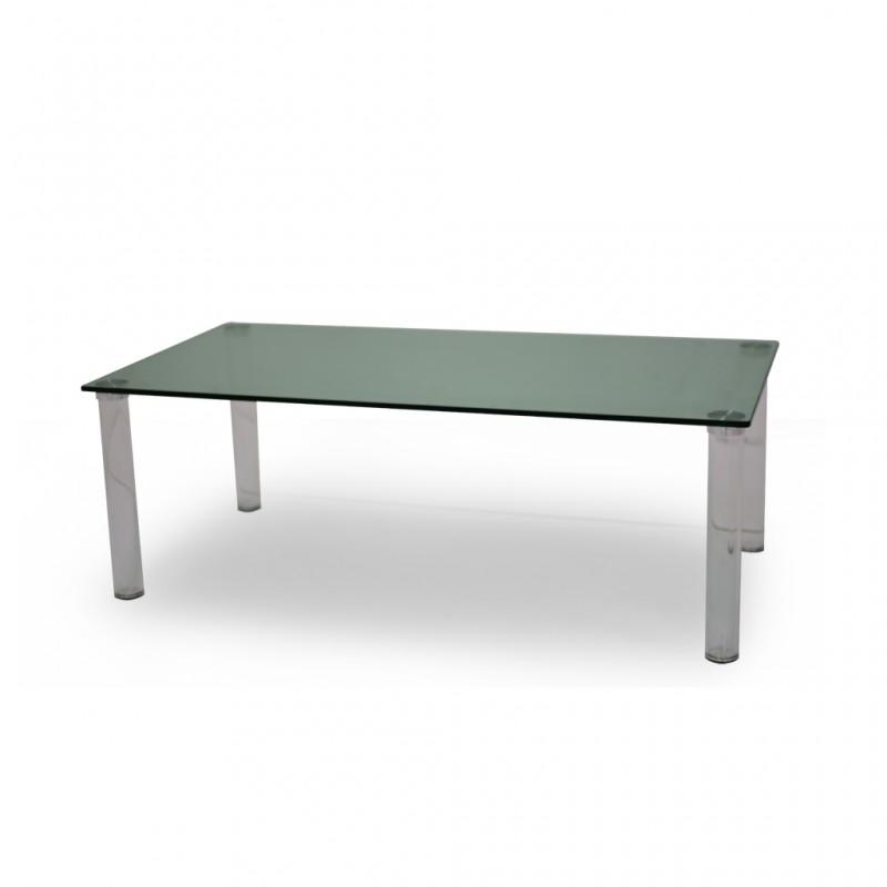 Vitro Coffee Table Green Glass Top