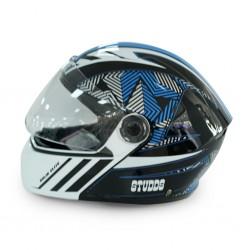 Studds Elite n1 Blue Helmet 06682