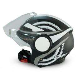 SMK Streem MA216  M/Black helmet 06673