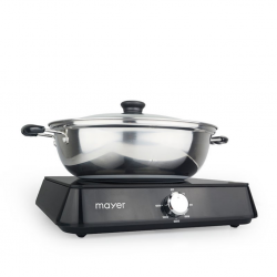 Mayer MMIC1619 Blk Induction Cooker With S/S Pot