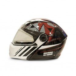 Studds Elite n2 Red Helmet 06684