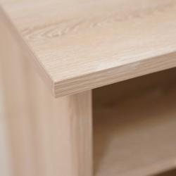 Neo Bedside Table Oak MDF