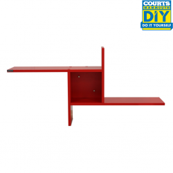 Pasco Windmill Wall Shelf Red Color