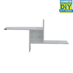 Copell Windmill Wall Shelf High Gloss White Color