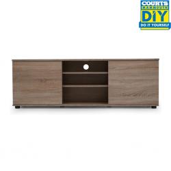 Swansea Low TV Cabinet Latte W/2 Drawers/3 Shelves