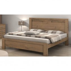ilano Bed 180x200 cm Carvalho Soft Particle Board