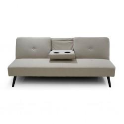 Croatia Sofa Bed Beige Fabric